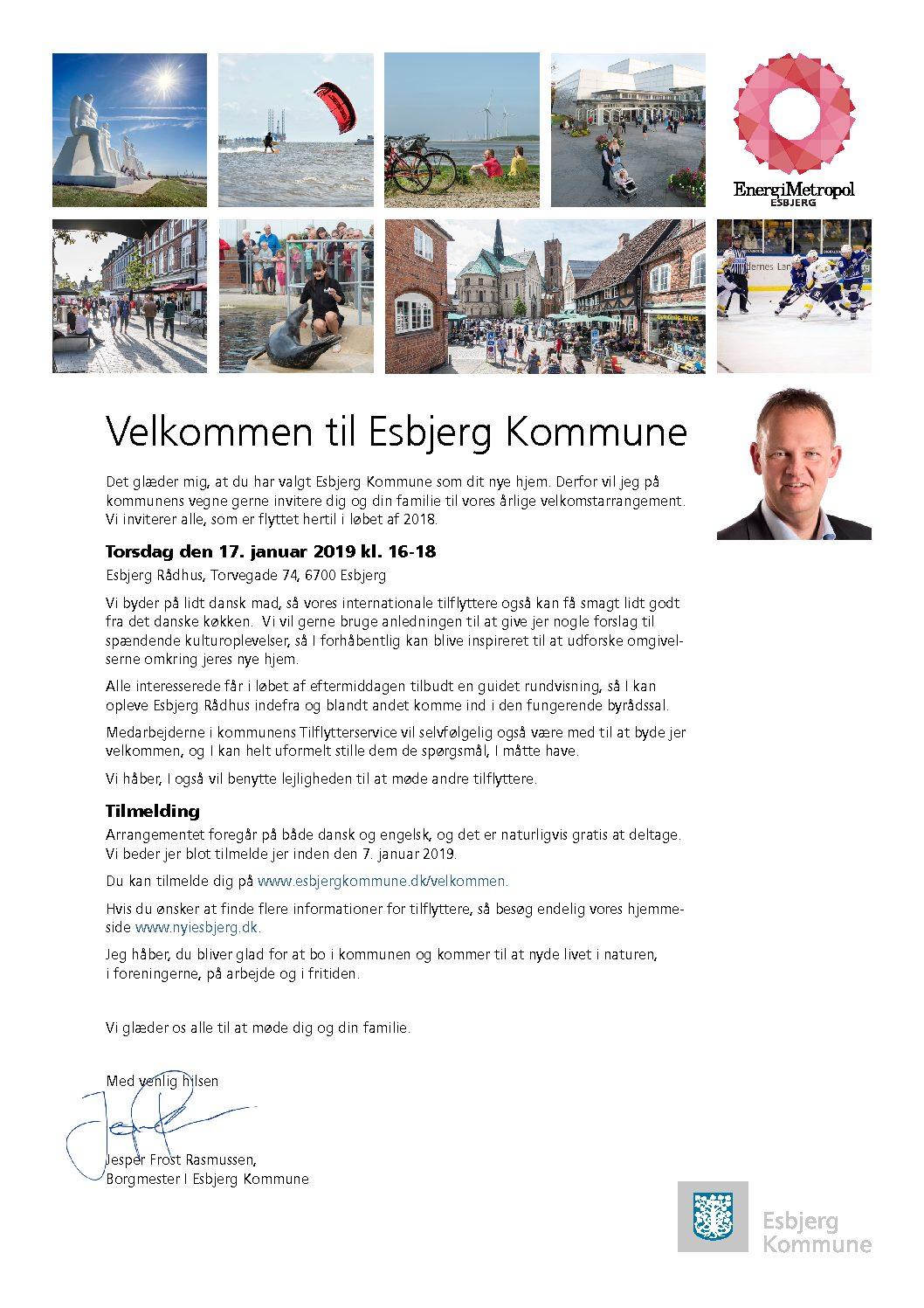 Borgmester inviterer tilflyttere til officiel velkomst